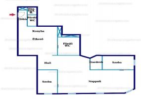 Királyi Pal utca,Hungary,Hungary,2 Bedrooms Bedrooms,2 BathroomsBathrooms,Apartment,Királyi Pal utca,3,1164
